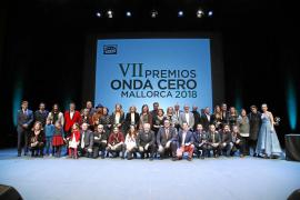 Entrega de los VII Premios Onda Cero Mallorca 2018