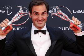 Federer se lleva el premio al Mejor Deportista del Año por quinta vez