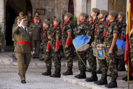 Sentida despedida de Mariano Estaún como comandante general de Baleares