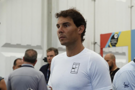 Rafa Nadal abandona el torneo de Acapulco