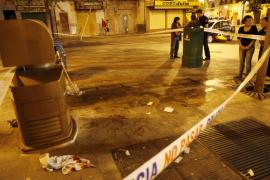 Un hombre, en estado crítico tras ser apuñalado en la Porta de Sant Antoni