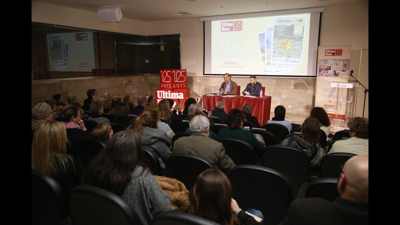 Llucmajor estrena el primer monográfico de '125 años de noticias' en Ultima Hora