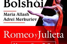 El Ballet de Bolshoi baila 'Romeo y Julieta' en el Auditórium de Palma
