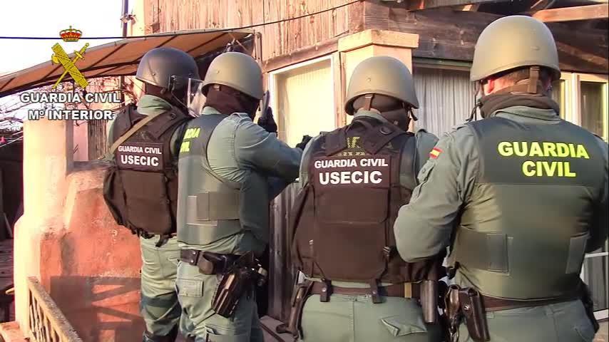 Los detenidos en la 'operación Invernalia' utilizaban la fuerza para cometer sus robos