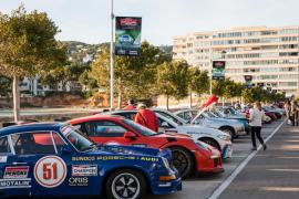 Cerca de 100 coches emblemáticos compiten en el Rally Mallorca Clásico