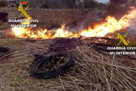 La Guardia Civil tramita en Menorca 40 denunciasrelacionadas con la gestión y eliminación de residuos