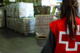 La Cruz Roja de Baleares ha repartido 882 toneladas de comida en su programa de ayuda 2017