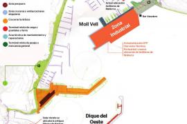 Astilleros Mallorca se trasladará al Moll Vell y el tráfico de ferrys al Dique del Oeste