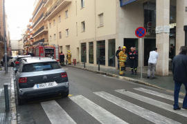 Incendio en el hotel Saratoga de Palma