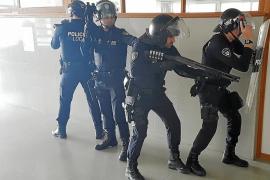 La Policía Local de Manacor recibe entrenamiento antiterrorista