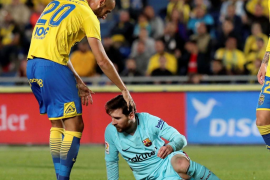 El Barça se deja dos puntos en Las Palmas