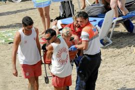 Herida una mujer que fue picada por un pez cuando nadaba en la playa de La Romana