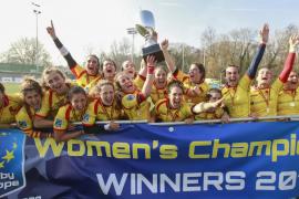 Las 'Leonas' arrollan a Holanda y ganan su sexto Campeonato de Europa de rugby