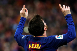 Messi marca ante el Atlético, le da la victoria a su equipo y acerca el título al Barcelona