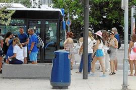 Los pasajeros del autobús especial del puerto aumentan un 66 % en 2017