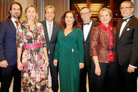 Cena de clausura de la XI Asamblea de Rotary Internacional