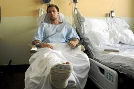 «Estuve más de una hora con la pierna  atrapada en la hélice del barco, fue horrible»