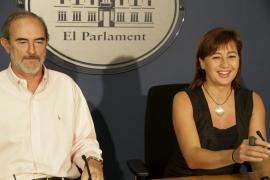 Armengol acusa al Govern de pretender endeudarse clandestinamente