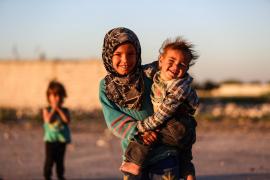 Al menos mil niños han muerto o han sido heridos graves este año por la guerra en Siria