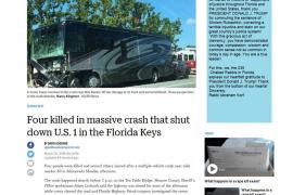 Cuatro jóvenes mallorquinas fallecen en un accidente de tráfico en Miami