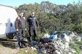 Duras sanciones a los vecinos de Porreres que tienen residuos en solares y fincas