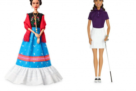 Frida Kahlo y la golfista mexicana Lorena Ochoa inspiran dos nuevas Barbies
