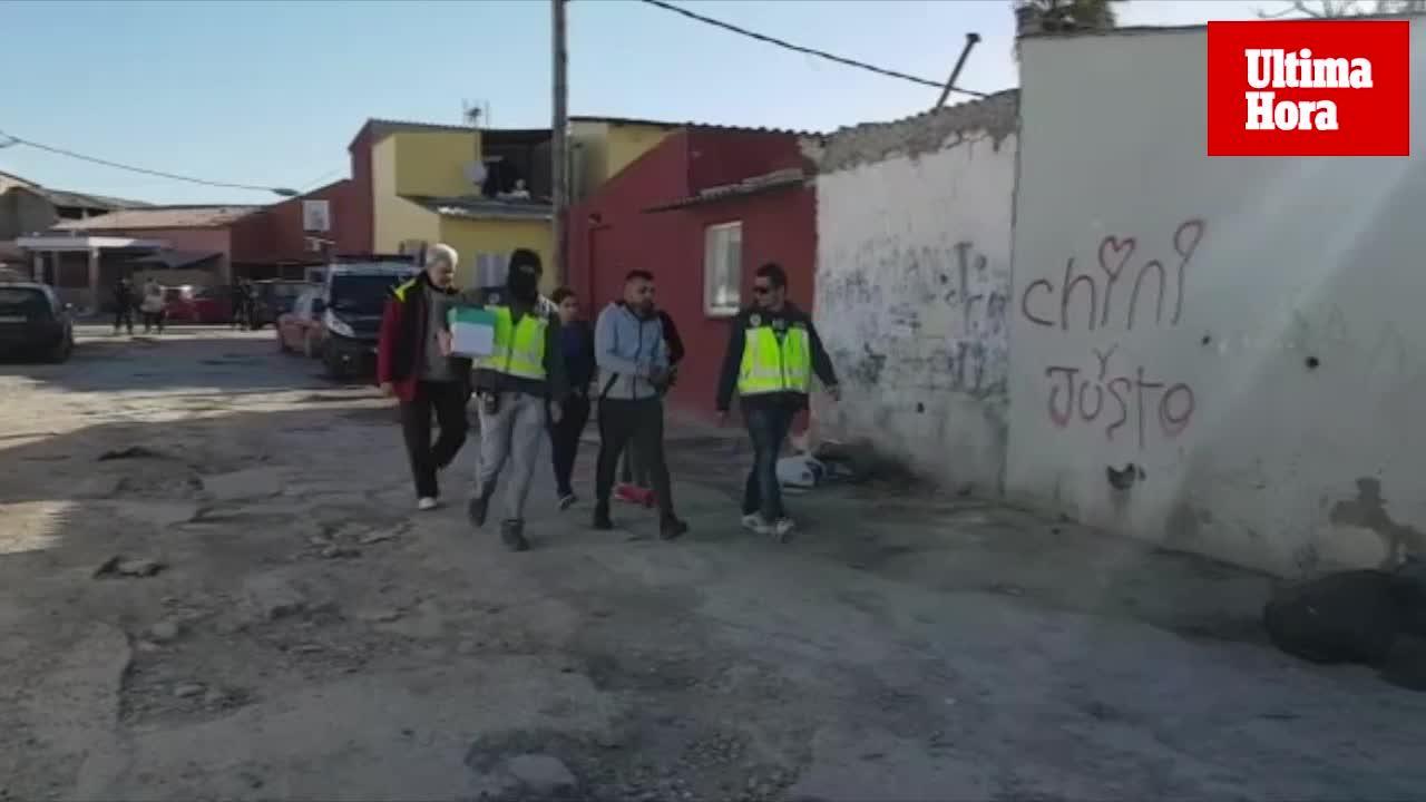 Nueva operación contra el tráfico de drogas en Palma
