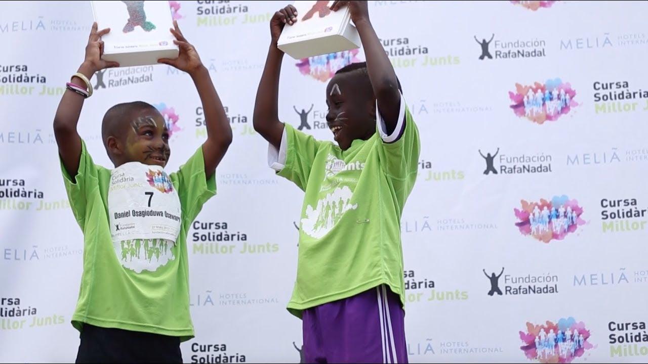 La Fundación Rafa Nadal organiza la segunda carrera solidaria 'Millor Junts' en Palma