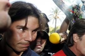 Nadal se olvida del US Open y ya entrena para la Davis