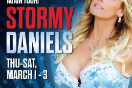 La actriz porno Stormy Daniels demanda a Trump porque dice ser libre de hablar sobre su supuesta relación