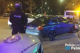 Más de 60 vehículos controlados por la Policía de Palma en El Vivero