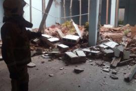 El derrumbe de una terraza en Palma se salda sin heridos