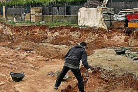Hallan los restos óseos de 64 cuerpos de la época islámica en la zona de Crestatx