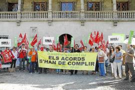 El Govern recortará las subvenciones sindicales y eliminará 89 liberados