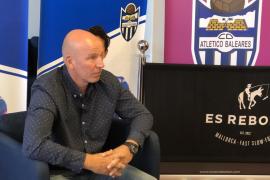 Ingo Volckmann cree en la permanencia del Atlético Baleares