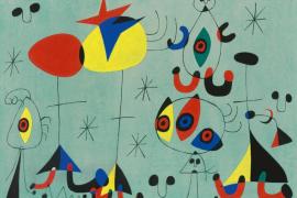 'Los símbolos de Miró', un taller familiar para descubrir la vida del artista en Fàbrica Ramis