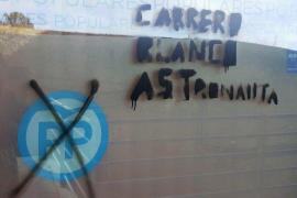 El PP de Ávila denuncia actos vandálicos contra su sede
