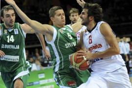 España se mete en las semifinales al derrotar a Eslovenia por 86-64