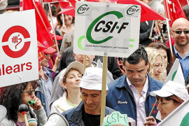 Los sindicatos se plantean hacer un frente común y romper las relaciones con el Govern