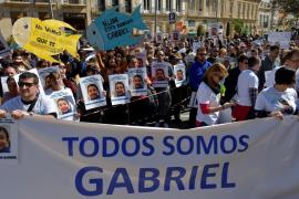 Miles de personas piden el regreso de Gabriel a casa