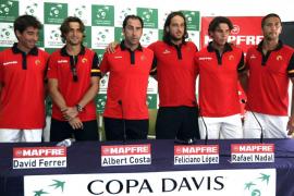 El partido Nadal-Gasquet abrirá el viernes las semifinales de la Davis