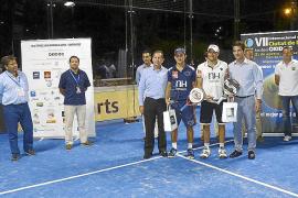 Entrega de trofeos del VII Internacional de Pádel Ciutat de Palma Trofeo Oxidoc
