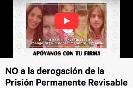 La hermana de Diana Quer pide más firmas a favor de la prisión permanente revisable