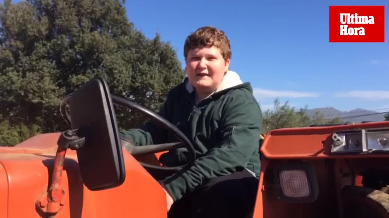 Miquel Montoro, el niño 'youtuber' de Sant Llorenç que triunfa en las redes sociales