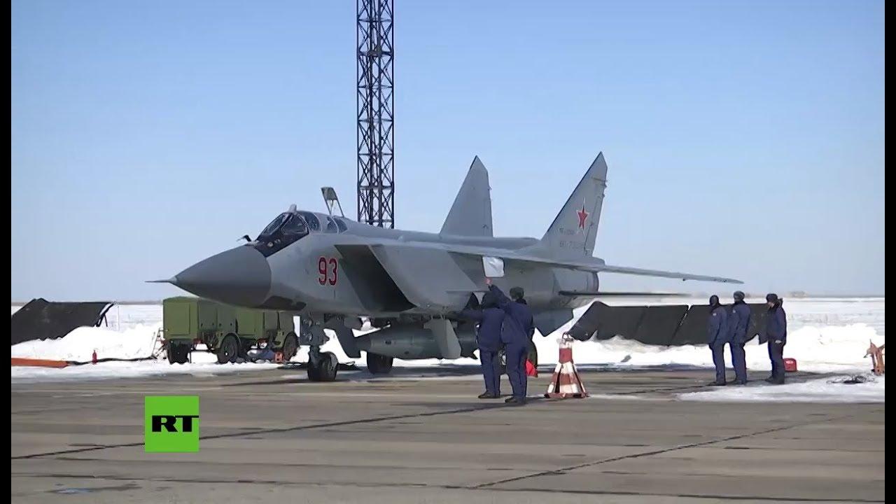 Rusia prueba el 'Kinzhal', el misil hipersónico capaz de burlar el escudo de EEUU