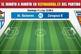 Atlético Baleares-Deportivo Aragón, en directo