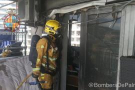 Incendio en un séptimo piso de la calle Joan Miró de Palma