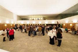 Éxito de asistencia al concierto del coro Canblaugospel en Santa Eulària (Fotos: Marcelo Sastre).