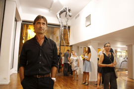 Los 'indignados', de 'performance' en la Nit de l'Art