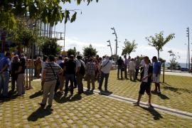 La primera parte de la zona verde de la Fachada Marítima ya está abierta al público